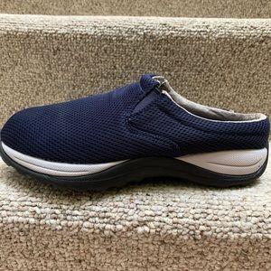 L L Bean Blue Mules Slides Shoes 9 Wide